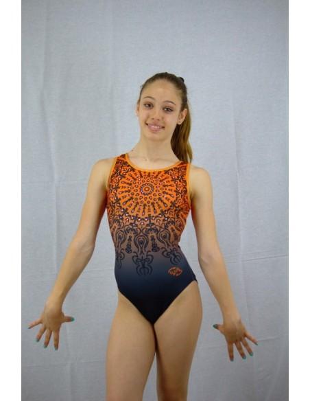 Body Orange Mandala