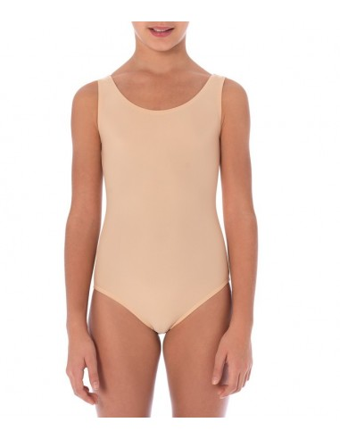 Sottobody spalla larga color carne intimo - Underwear